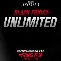 This Black Friday, the OnePlus 2 will be sold without invites; OnePlus holiday deals also coming soon