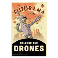 Futurama: Release the Drones coming to mobile
