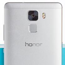 The top-notch fingerprint reader is honor 7's killer feature