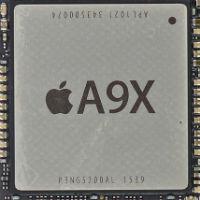 iPad Pro A9X chip breakdown shows 12 GPU cores and no L3 cache