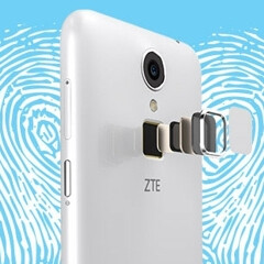 ZTE Blade A1 is the world's cheapest smartphone to feature a fingerprint scanner