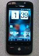 Live images of the HTC DROID Eris and its Sense UI