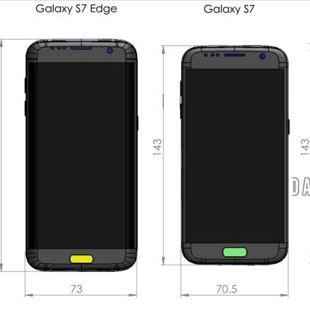 galaxy s6 edge dimensions