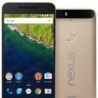 Gold-colored Huawei Nexus 6P finally available in the States