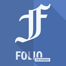 Folio for Facebook app aims to solve the clutter and battery drain of the original