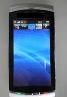 The Sony Ericsson Kurara - 8.1-megapixel handset running Symbian S60