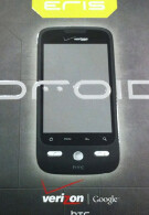 HTC DROID Eris photographed while unboxing