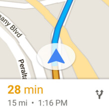 How to adjust the voice volume level in Google Maps navigation (Android)