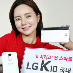 LG is launching its K10 and K4 smartphones around the world