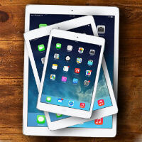 Apple's iPad had a leading 24.5% share of the global tablet market in Q4 2015