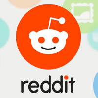 Screenshots appear of the Reddit app for Android beta
