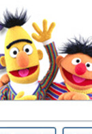 Ernie and Bert wave hello as Google puts DROID ad on home page