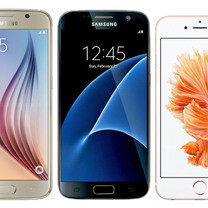 Samsung Galaxy S7 preliminary size comparison vs iPhone 6s, Galaxy S6, LG G4 and more