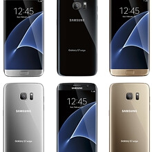 New Samsung Galaxy S7 edge renders show three color variants, front and rear sides