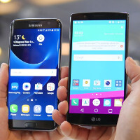 Samsung Galaxy S7 edge vs LG G4: first look