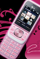 The rosy-cheeked LG Popcorn GU280 comes from Italy