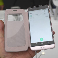 Let's accessorize! Hands-on with official LG G5 Quick Cover and protective Lifeproof case