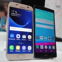 Samsung Galaxy S7 vs LG G4: first look