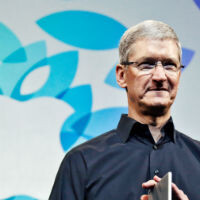 Tim Cook gets his leadership moment, but is it an Apple moment?