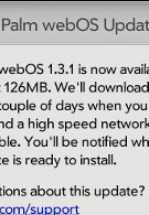 Pre owners to get webOs 1.31 sent OTA