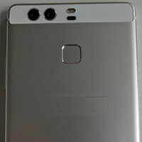 Images of the Huawei P9 leak revealing dual camera system and fingerprint scanner