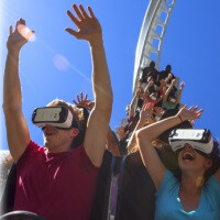 Six Flags and Samsung to open nine virtual reality roller coasters in North America