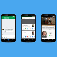 Google Now On Tap will let you point the camera at texts around you and get related information