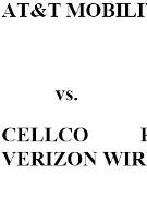 Verizon's response to AT&T: