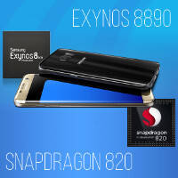 Samsung Galaxy S7: Snapdragon 820 vs Exynos 8890 flavors compared