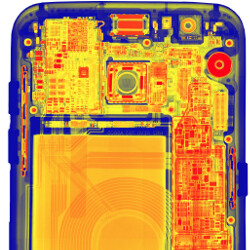 S7 edge gets X-rayed, flaunts its OIS magnets and wire harness in the cooling pipe