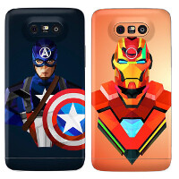 Outstanding vinyl skins for the LG G5: comic heroes, leather, and wood aplenty