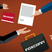 Price drop! Foxconn – Sharp takeover deal finalized at $3.5 billion