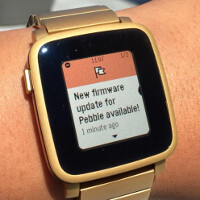 Pebble update brings long awaited iOS text replies to Verizon customers and more