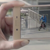 The 23MP rear camera on the Sony Xperia X Performance and Sony Xperia X is teased on official video