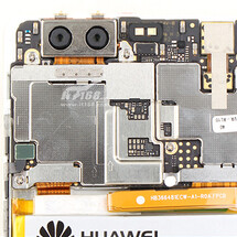 Huawei P9 gets torn down, dual camera and sneaky flex cable are exposed