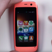 The smallest Android handset is available from Amazon with a 2.4-inch screen and low-end specs