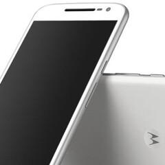 New Motorola Moto G4 render shows the white version of the phone
