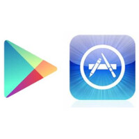 Google Play Store had twice the number of downloads as the App Store in Q1, but took in less money