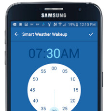 S7 edge and Note 5 score exclusive Weather Channel app with edge alerts and smart alarm