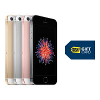 One more week left to get a $50 gift card when you purchase the Apple iPhone SE at Best Buy