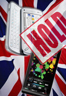 Sales of the Nokia N97 and Sony Ericsson Satio come to a standstill in the UK