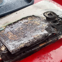 Samsung Galaxy S6 edge+ transforms into a torch as the unit catches on fire