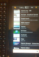Nokia N900 video shows illegal Nintendo Emulators; glitch causes portrait view on pages