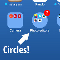 Bug in iOS 9.3 lets you make folder icons circular – here's how to take advantage of it