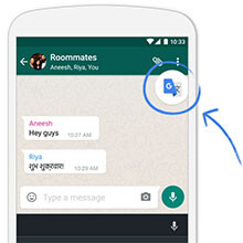 With Tap to Translate, Google Translate now works within other apps
