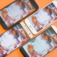 Outdoor display comparison: iPhone 6s vs S7 edge vs 10 vs G5