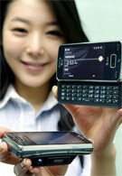 The LG eXpo is a WM6.5 phone with 1GHz processor and projector