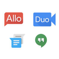 Allo and Duo will live alongside Hangouts and Messenger for Google