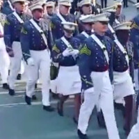 West Point grad sparks controversy by getting caught texting during graduation march