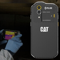 CAT S60, the first smartphone with a thermal camera, will be available to pre-order in June